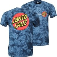 Santa Cruz Classic Dot T-Shirt - navy crystal wash