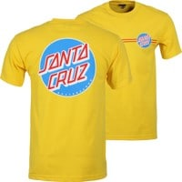 Santa Cruz Other Dot T-Shirt - yellow/red/white/blue
