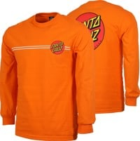 Santa Cruz Classic Dot L/S T-Shirt - orange