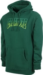 Creature Logo Outline Hoodie - dark green