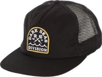Dark Seas Talbert Trucker Hat - black