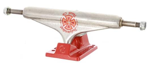 Independent Martinez Stage 11 Skateboard Trucks - silver red 149 - view large