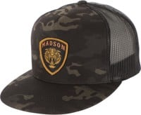 MADSON Tiger Shield Trucker Hat - black multicam