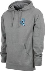 Santa Cruz Screaming Mini Hand Hoodie - gunmetal heather
