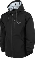 Dark Seas Port Windbreaker - black