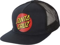 Santa Cruz Classic Dot Trucker Hat - navy/black