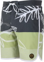 Dark Seas Malachite Boardshorts - black/green