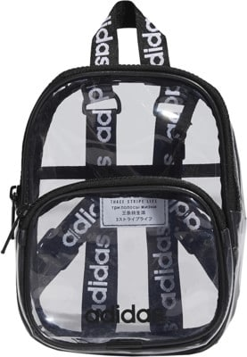 Adidas Originals Clear Mini Backpack - black - view large