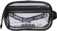 Adidas Originals Clear Waist Pack Travel Bag - black
