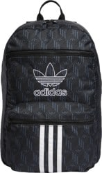 Adidas Originals National 3-Stripes Backpack - black/white