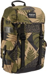 Burton Annex 28L Backpack - martini olive woodcut palm