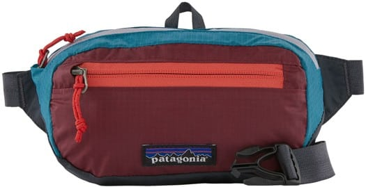 Patagonia Ultralight Black Hole Mini Hip Pack - patchwork: roamer red - view large