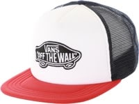 Vans Classic Patch Trucker Hat - racing red/white