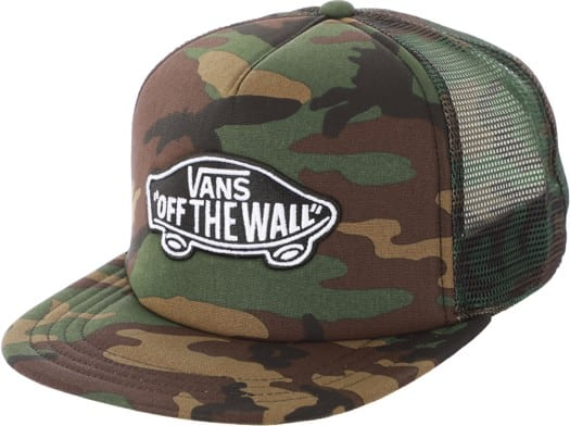 Vans Classic Patch Plus Trucker Hat - classic camo - view large