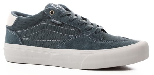 Vans Rowan Pro Skate Shoes - (mirage) blue/white - view large