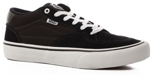 Vans Rowan Pro Skate Shoes - black/white - view large