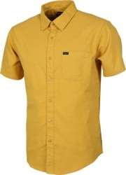 Brixton Charter Oxford S/S Shirt - sunset yellow