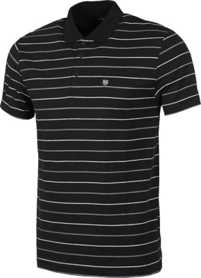 Brixton Hilt Polo Shirt - black - view large