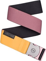 Arcade Belt Co. Ranger Belt - deep cassis/color block