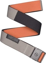 Arcade Belt Co. Ranger Slim Belt - deep copper/color block