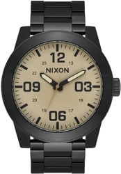 Nixon Corporal SS Watch - black/khaki