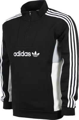 Adidas Mod 1/4 Zip Jacket - black/clear onix/white/off white - view large