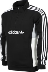 Adidas Mod 1/4 Zip Jacket - black/clear onix/white/off white