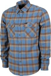 Brixton Bowery Flannel - river blue