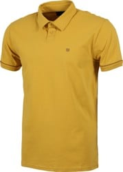Brixton Carlos Polo Shirt - sunset yellow