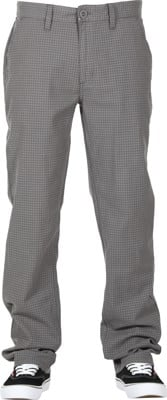Brixton Reserve Chino Pants - grey gingham - view large