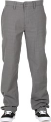 Brixton Reserve Chino Pants - grey gingham