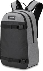 DAKINE URBN Mission 22L Backpack - greyscale