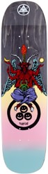 Welcome Lay Bapholit 8.6 Stonecipher shape Skateboard Deck - black stain