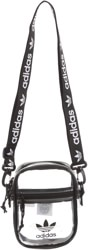 Adidas Originals Clear Festival Crossbody Pack Shoulder Bag - black