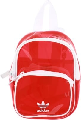Adidas Originals Mini Tinted Backpack - lush red/white - view large