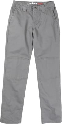 Dickies Boys Flex Skinny Garage Pant - charcoal - view large