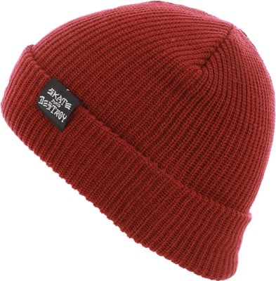 Thrasher Skate And Destroy Goat Beanie - maroon - view large