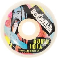 Portland Wheel Company Death Grips Skateboard Wheels - the bollweevils (101a)