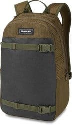 DAKINE URBN Mission 22L Backpack - dark olive dobby