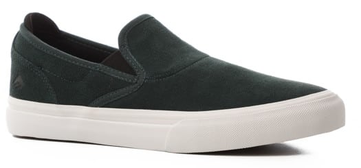 Emerica Wino G6 Slip-On Shoes - green/white - view large
