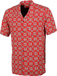 HUF Atelier Resort S/S Shirt - red