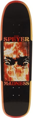 Madness Wade Speyer Fire Flannel 9.125 R7 Guest Model Skateboard Deck - view large