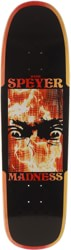 Madness Wade Speyer Fire Flannel 9.125 R7 Guest Model Skateboard Deck