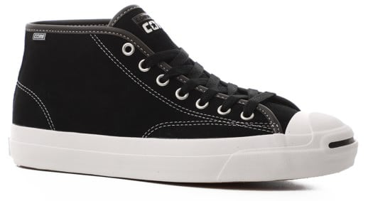 Converse Jack Purcell Pro Mid Skate Shoes - view large