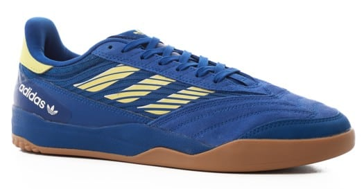 Adidas Copa Nationale Skate Shoes - team royal blue/yellow tint/footwear white - view large