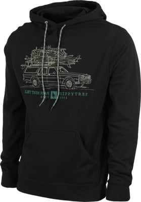 HippyTree Wagon Hoodie - black - view large