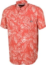 Salty Crew Weathered UV Protection S/S Shirt - coral