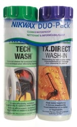 Nikwax Hardshell Wash And Waterproof Duo Pack