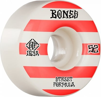 Bones STF V4 Wides Skateboard Wheels - patterns (103a) - view large