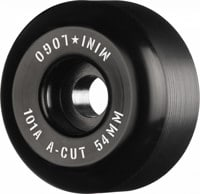 Mini Logo A-Cut Skateboard Wheels - black 2 (101a)